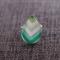 Jade Arrow Contemporary Teardrop Ring