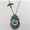 Swallow - Bohemian style gem necklace