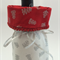 Red and White Christmas Gift Bottle bag  Suitable for wine