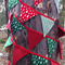 Bush Christmas Bunting Festive Red and Green 3m