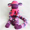 Sock Monkey Craft Kit Purple and Pink Stripes