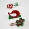 Christmas hairclip set