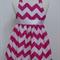 Custom Listing - Size 1 Pink ZigZag