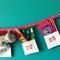 Christmas advent bunting 24 treat pockets