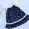 Navy strawberry fields summer dress