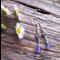 Lavender Jade Gemstone & Sterling Silver Earrings