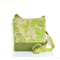 The 'Jodi' Medium handbag Beautiful Green leaf upholstery fabric