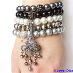 """GLAMOUR PUSS"" Bracelet Stack"