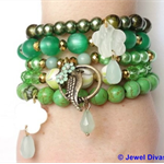 """FLY AWAY"" Bracelet Stack"