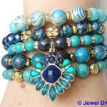 """""""OCEANIC"""" Bracelet Stack"""