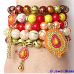 """SUNRISE"" Bracelet Stack"