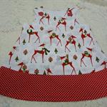 Christmas Reindeer Dress
