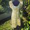 Green Tea Japanese Linen Dress
