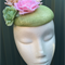 Green Fascinator Headpiece