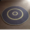 Large Round Crochet Floor Rug, Made to Order