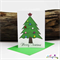 Oh Christmas Tree  - Christmas Card - Blank Inside