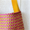 Large Super Strong Tote Library Bags - Pineapples Print