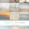 "Calendar 2015 - 5x7"" Fine Art Calendar - By the Sea - Gift Idea - Home Decor"