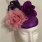 Purple Fascinator Headpiece