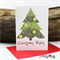 Candy Cane Christmas Tree  - Christmas Card - Blank Inside