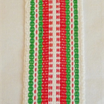 Handwoven Bookmark-Christmas design