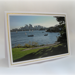 Sydney Cremorne Point Australia - PHOTO GREETING CARD