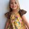 DRESS- Leopard skin and vintage rose- size 1,3,4,5 or 6