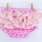 Pink Princess Crowns Ruffled Bloomers Nappy Cover, Girl, Baby, Toddler