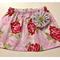Valentine Rose Skirt with YoYo Flower - Size 1