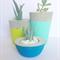 Concrete Plant Pot/Candle Holder Trio