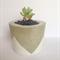 Concrete/Cement Plant Pot Handmade Homewares Decor White