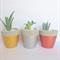 Concrete Candle Holder or Plant Pot Trio