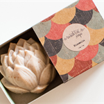 Chai & Vanilla Lotus Soap - Natural, Handmade, Cold Processed, Vegan
