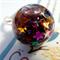 Stars Glitter Bubble Ring/ Snow Globe Ring/ Glass Dome Ring