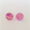 Buy 2 get 1 FREE Fabric Button Stud Earring Multi Coloured