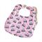 Super Bib BAMBOO Baby Toddler Pink Elephants, Girls boys unisex