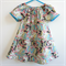 Peasant Dress, London Garden, size 18-24 months, ready to ship