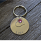 Pet ID Tag with Heart & coloured Diamante