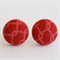 Buy 3 Get 1 Free! Pink Link Fabric Button Stud Earrings
