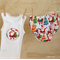 Boy's Christmas Nappy Cover Set - size 0000 - 2 made to order