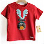 reindeer tee | christmas | red | toddler boy
