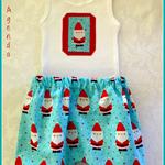 Santa Bloomer Set