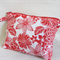 Red and White Flower Purse