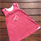 Pink Spotted Corduroy Dress, Size 2