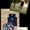 Boys Surf Board Shorts Set, Black & Bright Multicoloured Surfboards Size 1-3
