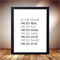 House print, In this house poster, Popular print for the home, Love family art
