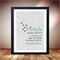 Quote about friends, Great gift for friend, Friends are like stars print poster