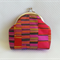 Mostly Pinks Striped Coin Purse - Free Postage