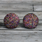 Buy 2 pairs and get 3rd set free (Fabric button studs only). 20mm sparkles.