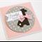 Handmade Baby Card - Beautiful Baby - Girl